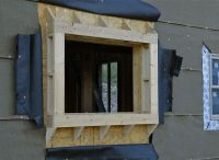 window bump-out framing | install faux beams | Pinterest ...