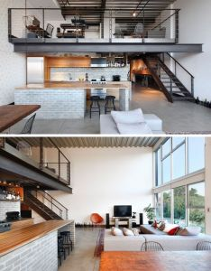 Interiors also shed architecture  design completed the remodel of  loft in rh pinterest