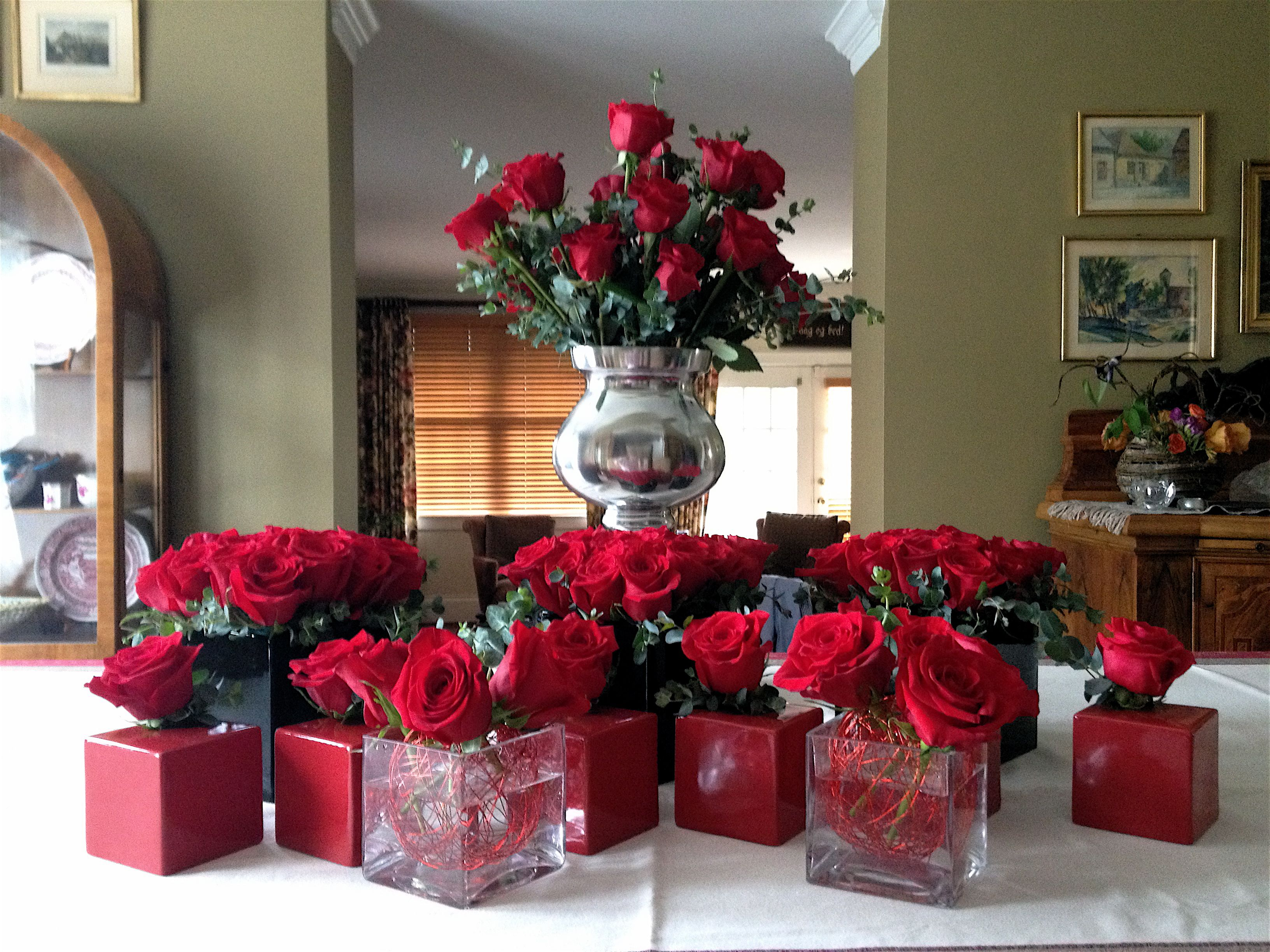 wedding chair covers derby folding into bed red roses for kentucky party flowers pinterest