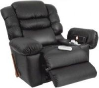 Heated Lazy Boy Chair with a built in fridge, landline and ...