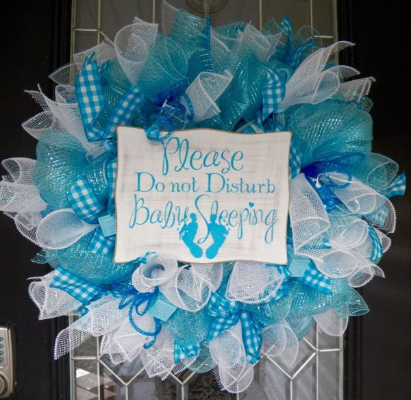 20 It S A Boy Hospital Wreath For Door Pictures And Ideas On Weric