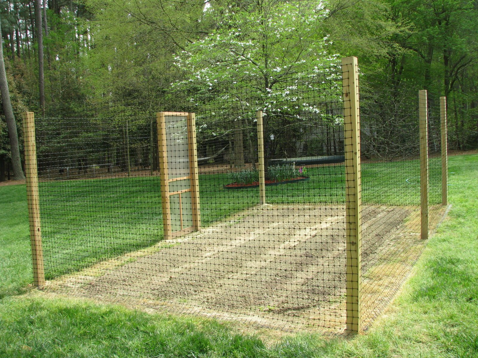 Deer Proof Garden Fence