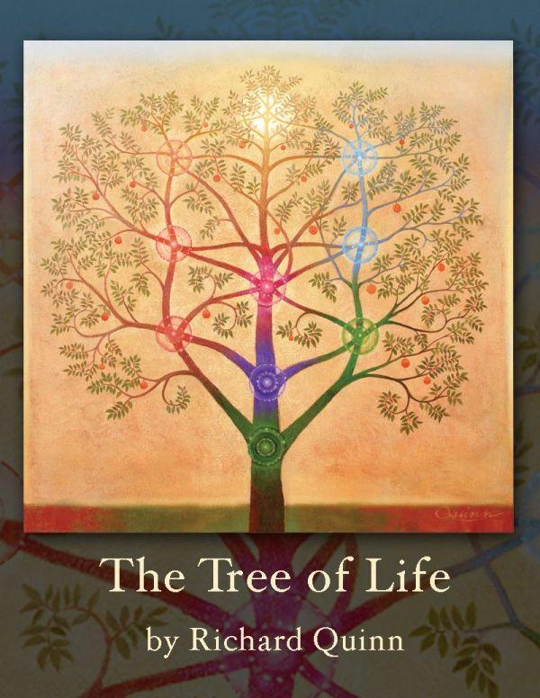 Based Kabbalah Tree Of Life Symbol. Art Richard
