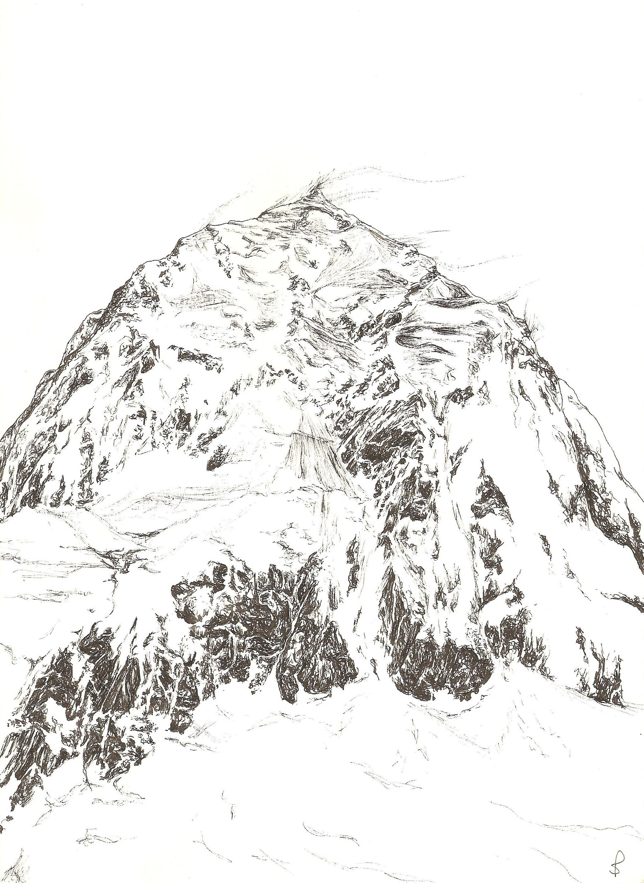 My Illustration Of New Zealand S Mount Cook The