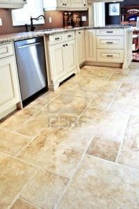 Ceramic Tile Flooring Cream Pattern Tile For Kitchen ...