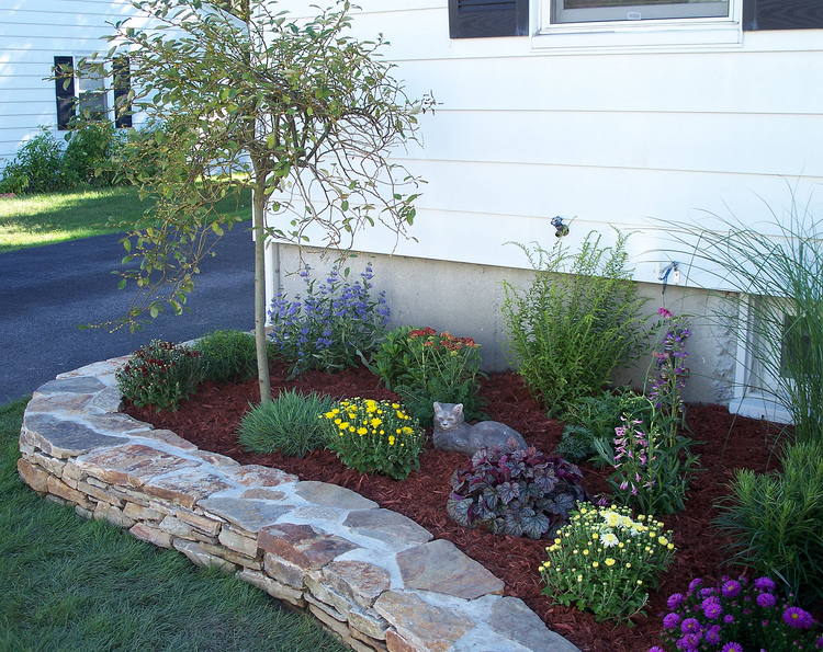 Xeriscape Beds Download Raised Flower Beds In Front Of House