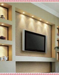Tv wall unit ideas gypsum decorating drywall designs also rh pinterest