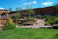 sloped backyard landscaping ideas | Backyard-landscaping ...