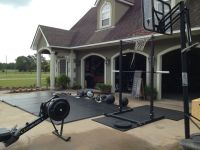 Great Tabata space! | b22fit | Pinterest | Backyard gym ...