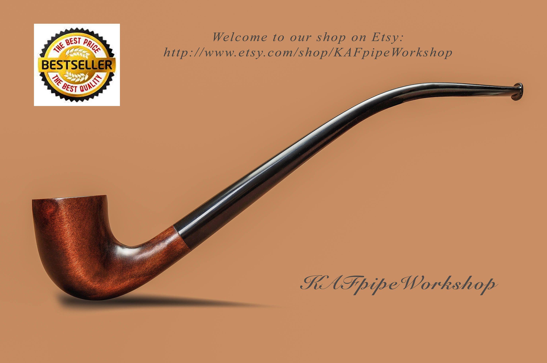 Smoking pipe KAF233/Gandalf pipe/Tobacco pipe churchwarden