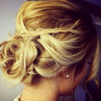Wedding Hair Blonde Updo | Fade Haircut