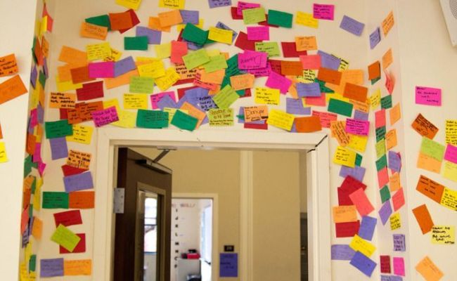 This Is A Shout Out Wall Where Students Can Shout Out