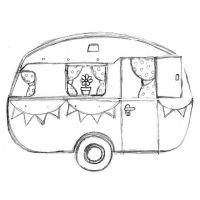 Dream Caravan Sketch   1 Art Journaling/Mixed Media ...
