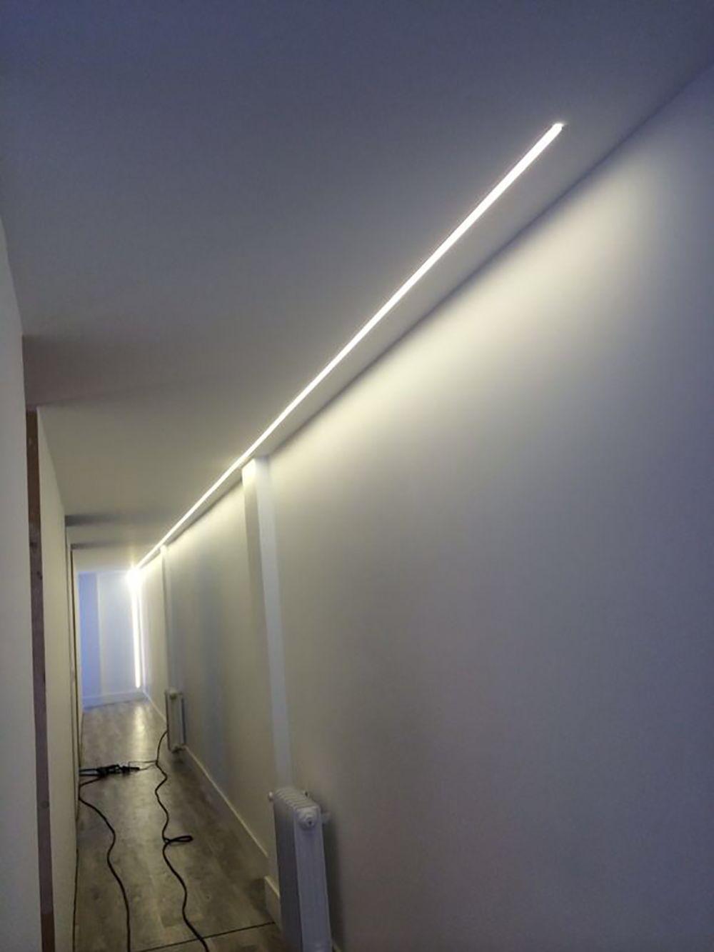 Ideas de decoracin e iluminacin con tiras de LEDs  Tiras de LEDs  Pinterest  Ideas de decoracion Iluminacin y Ideas