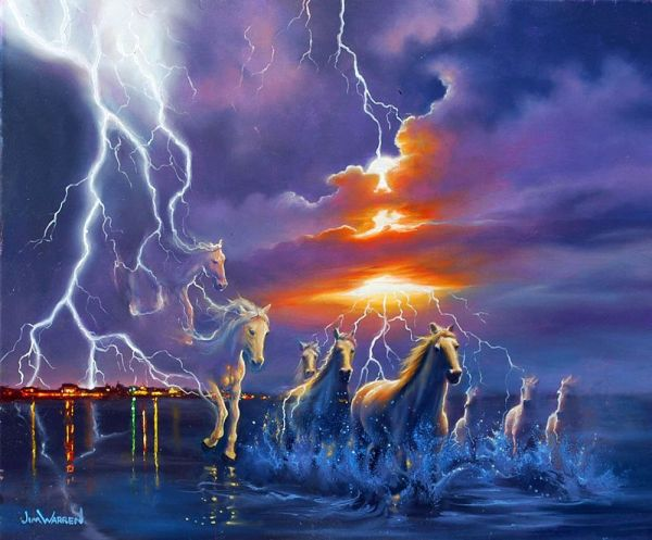 Jim Warren Horse Art