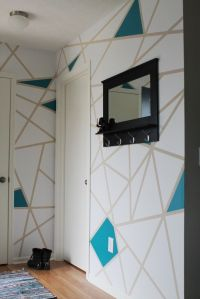 Easily create geometric wall art or accent wall using ...