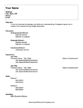 For College Students With Limited Work Experience This Resume