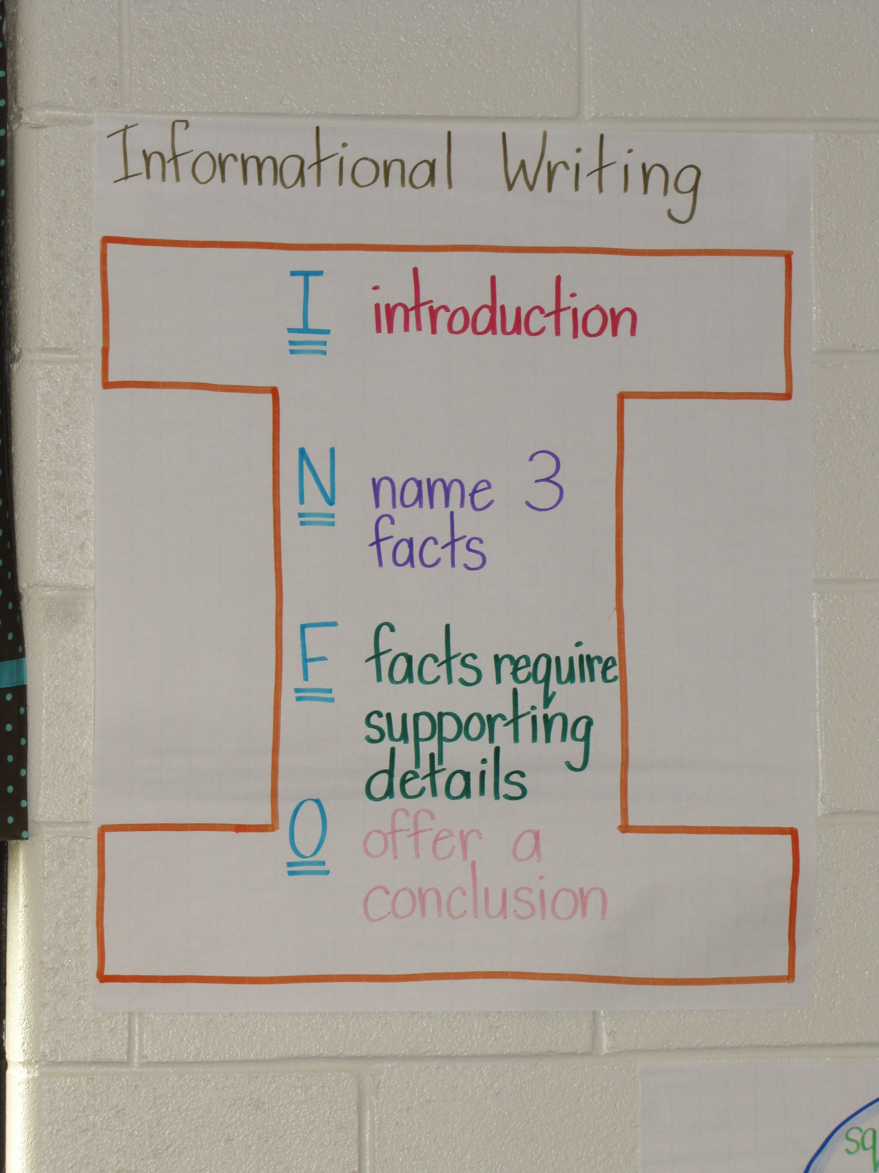 Expository Writing Samples For Second Grade