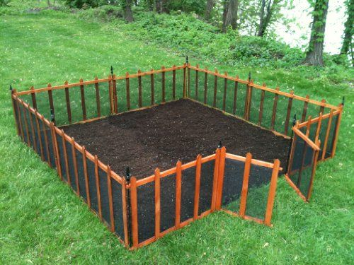 Terra Garden Fence GF 4 Protect & Beautify 32 Feet Of Fencing