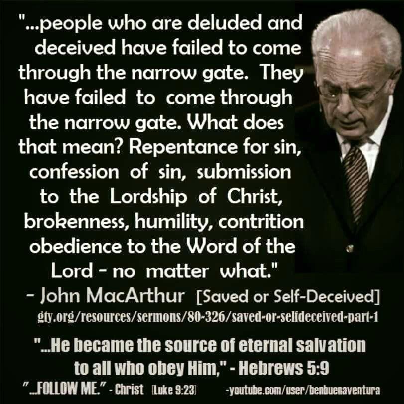 John Macarthur Quotes Gorgeous Dr John Macarthur Quotes Salvation Picture