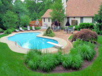 Nice Idea For Inground Pool Landscaping | The Best ...