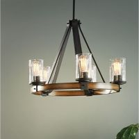 Shop Kichler Lighting Barrington 3-Light Distressed Black ...