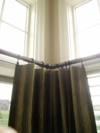 Window treatment ideas for sliding glass doors in a ...
