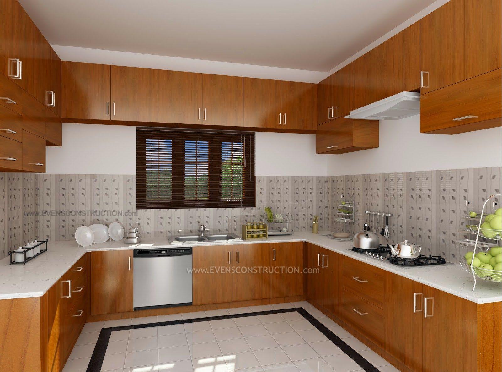 Kitchen Cabinet Design In Kerala Ideasidea