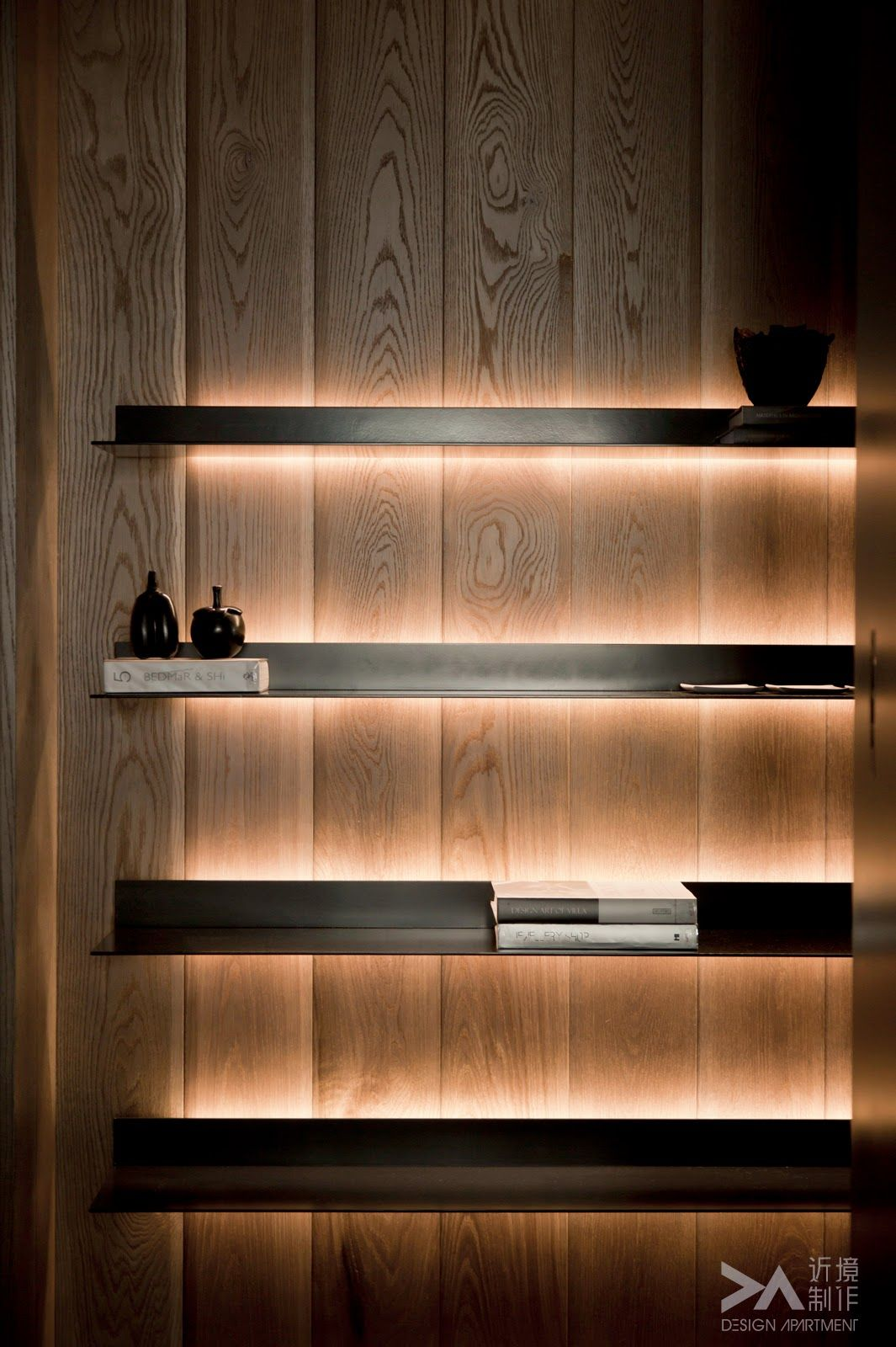Shelving Light You Can Achieve This Using Formed Lighting
