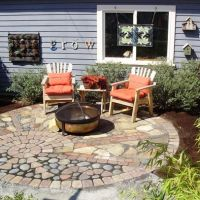 mixed materials patio | Garden Hardscape | Pinterest ...