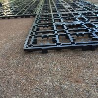 How to Lay Deck Flooring on a Concrete Patio | Laying ...
