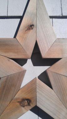 Handmade Primitive Barnwood Star 24 Rustic