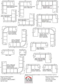 Lovely Sectional Sofa Dimensions #5 Sectional Sofa ...