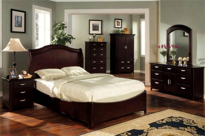Grey Paint Colors For Bedroom With Dark Cherry
