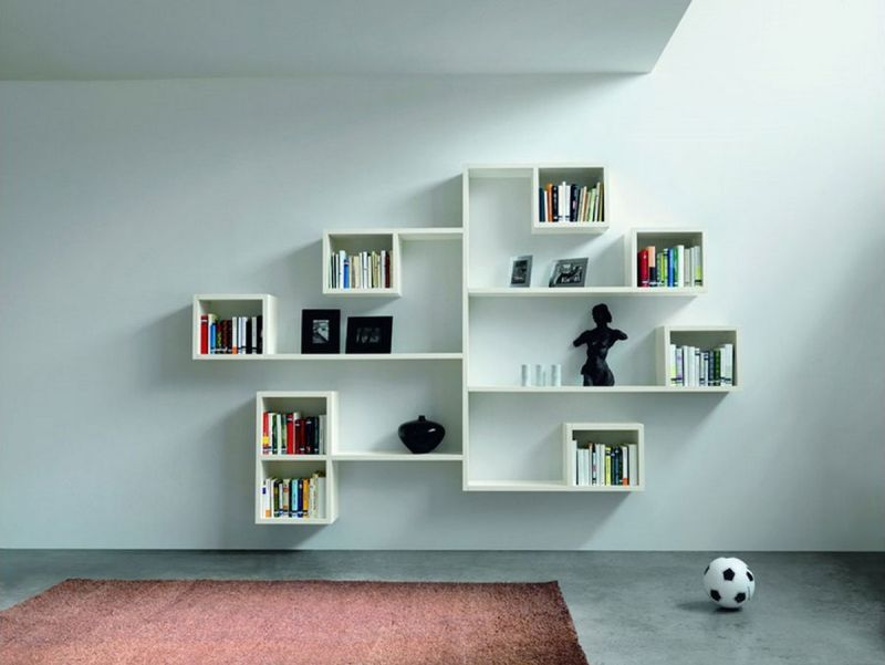 30 UNIQUE WALL DECOR IDEAS Wall Shelving Interior Walls And
