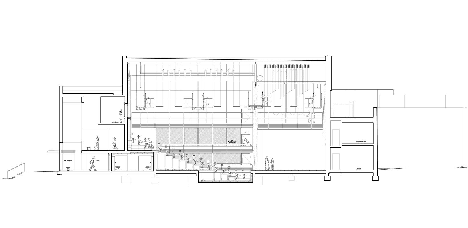 Auditorium Cross Section
