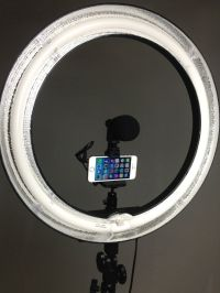 "Stellar Diva 18"" Ring Light cfl-r18 Kit - w/ Dimmer ..."