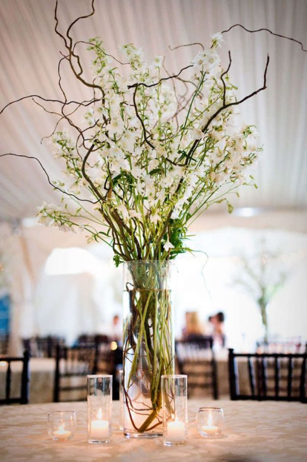 Wedding Centerpiece Ideas with Branches