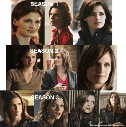 Hairstyles Of Kate Beckett On Castle Hairstyles Hair Trend 2017