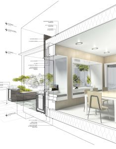 Highlighting elements within  drawing using rendering pens photoshop or similar also best images about interior  on pinterest rh