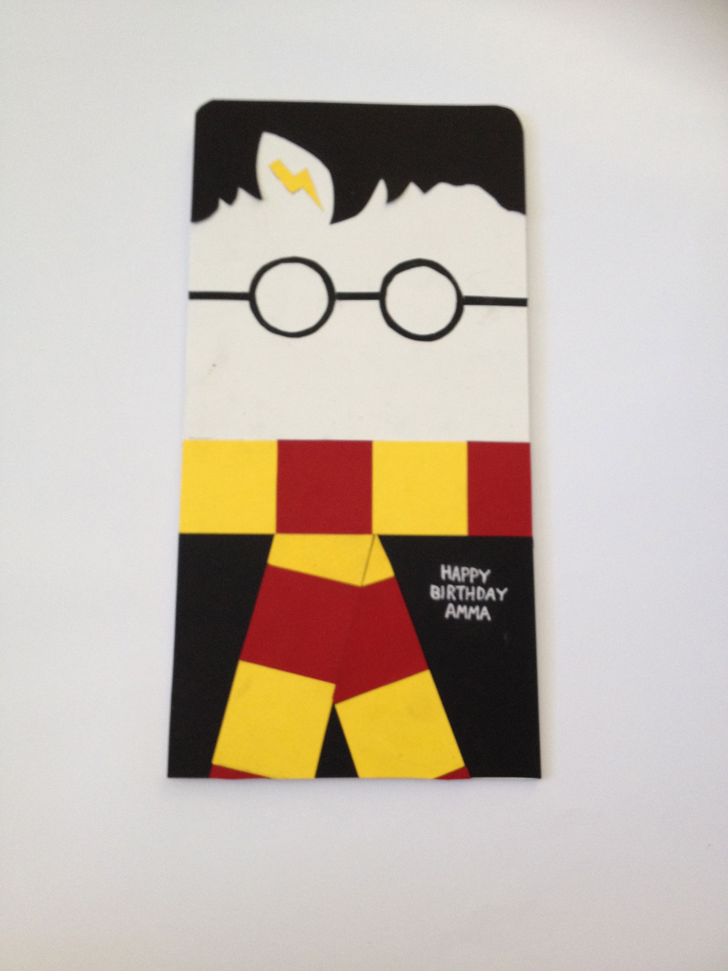Harry Potter Birthday Card Home Made Cards Pinterest