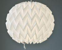 Bubble: Origami Paper Lamp Shade / Lantern - White. $40.00 ...
