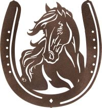 Horse Shoe Wall Art Country Decorations www.rusticeditions ...