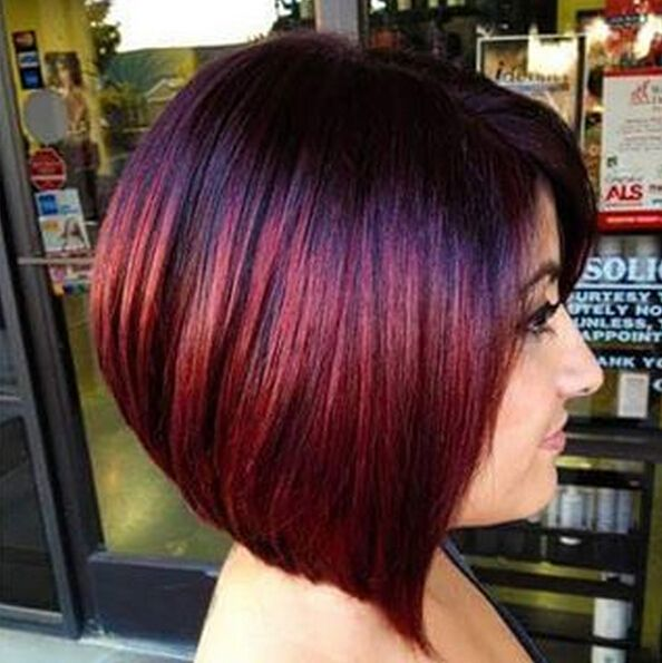 26 Impresionantes Ideas Nueva Red Color De Cabello Bobs Hair
