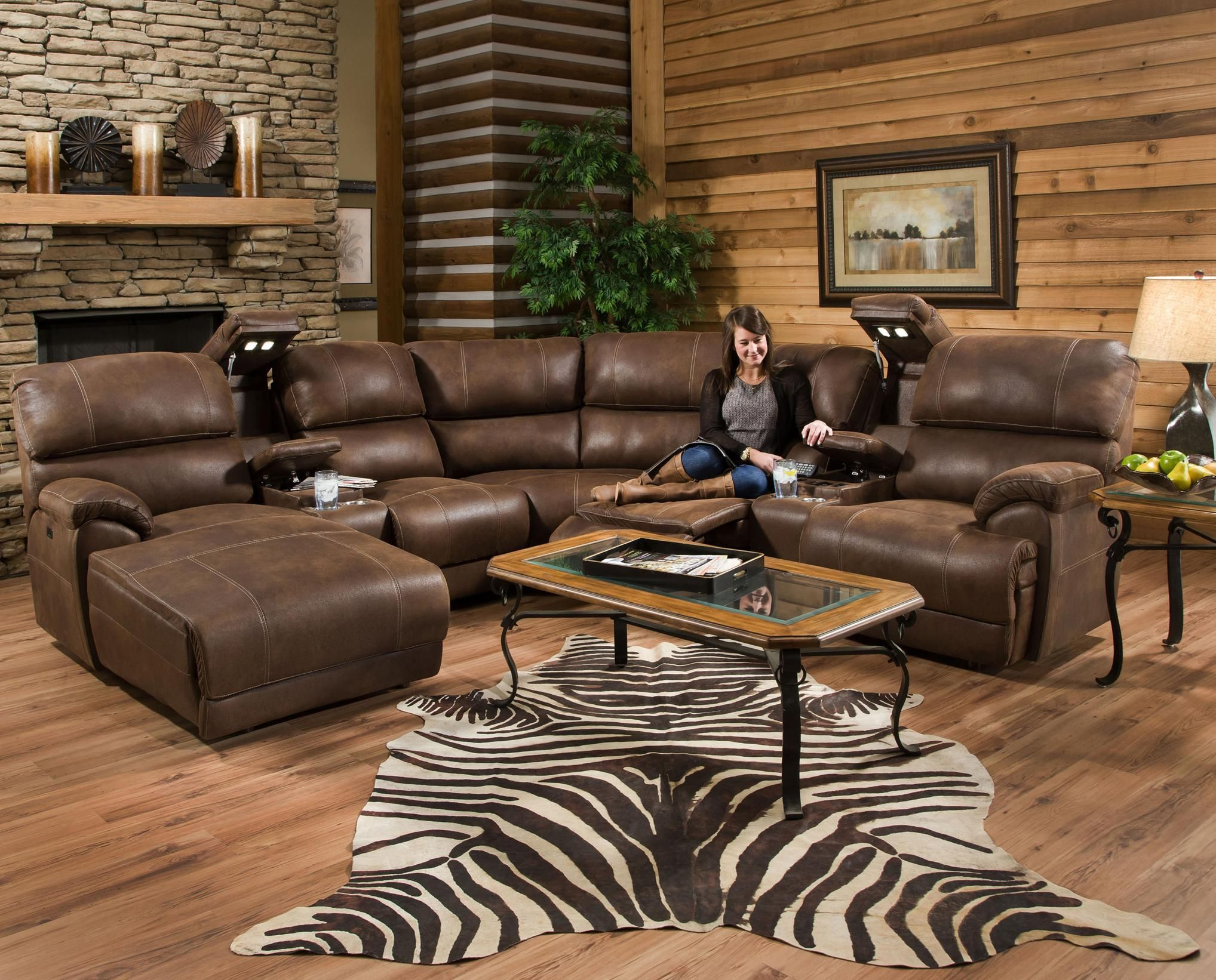 572 reclining sectional sofa with chaise by franklin purple sofas uk empire massage