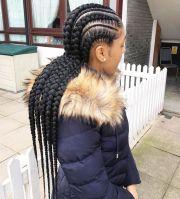 stunningly cute ghana braids styles