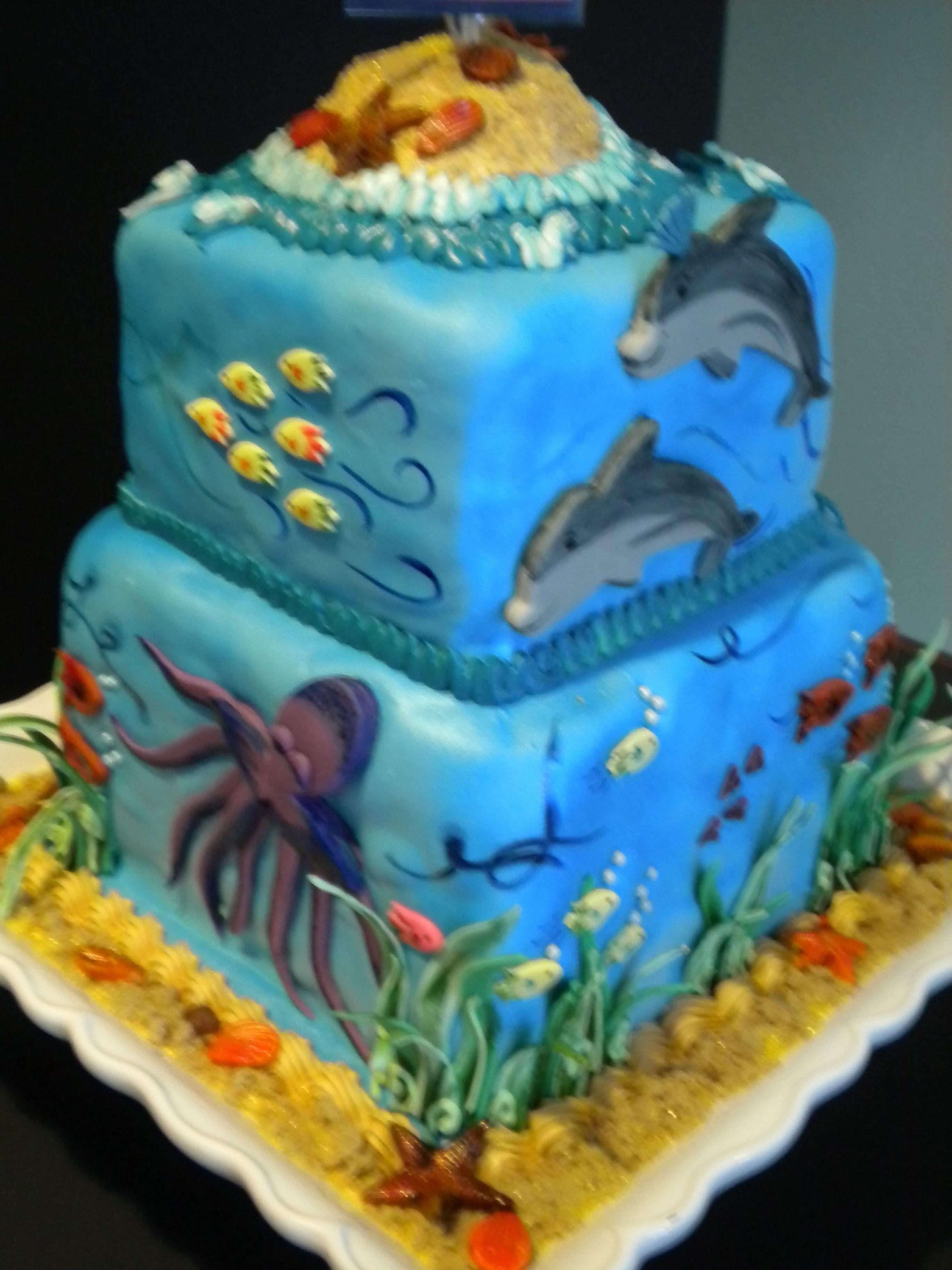 Happy Graduation Rine Biology Cake