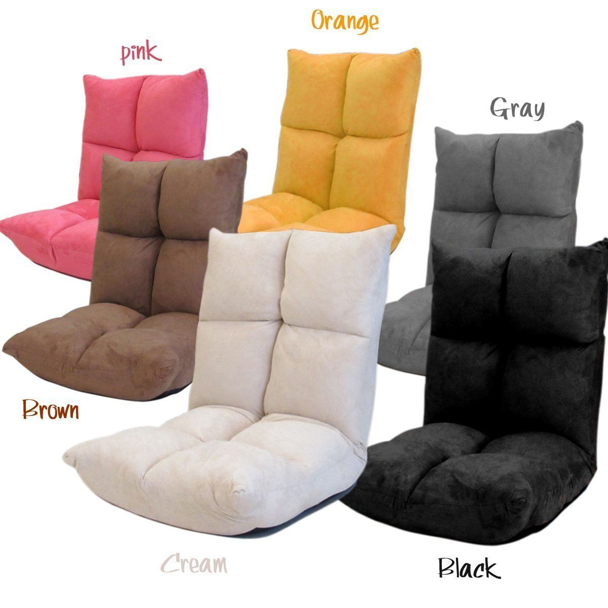 folding floor sofa chair cushion replacement singapore futon gaming the back rest can be adjusted