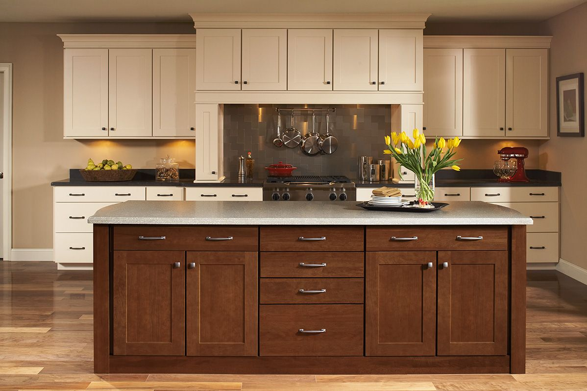 shenandoah kitchen cabinets brass pulls interesting kraftmaid
