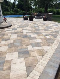 What a beautiful patio created by Artistic Pavers with ...